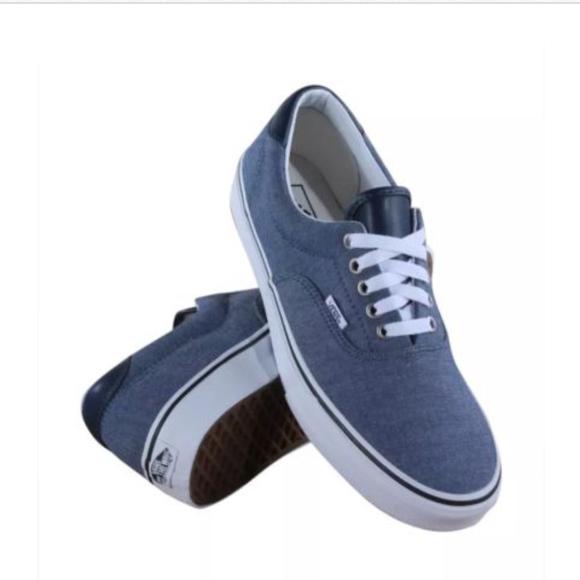305774b640 Vans Era 59 C LChambray Blue True White Size 11.5
